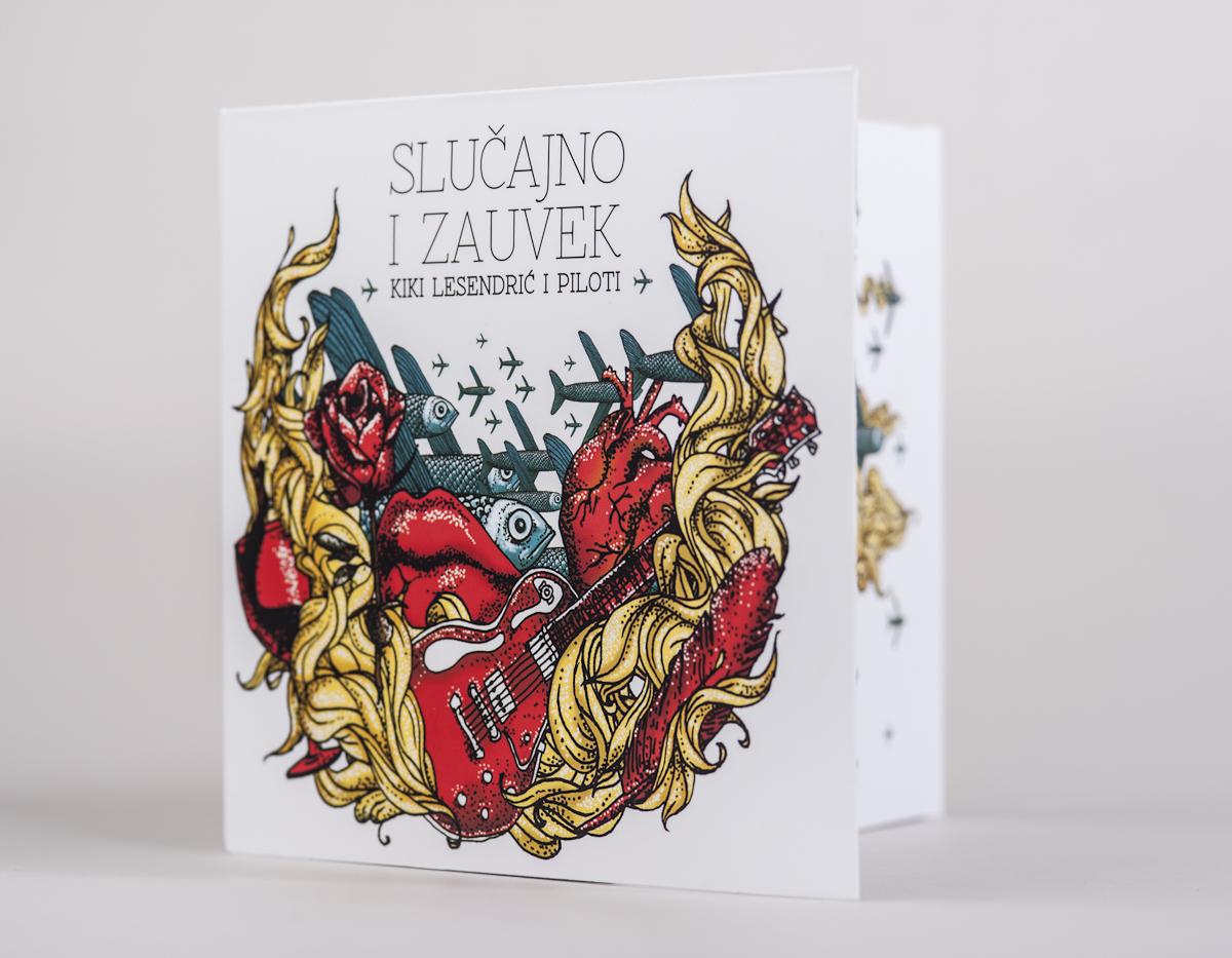 Kiki Lesendric i Piloti Slucajno i Zauvek CD Pack  S-3