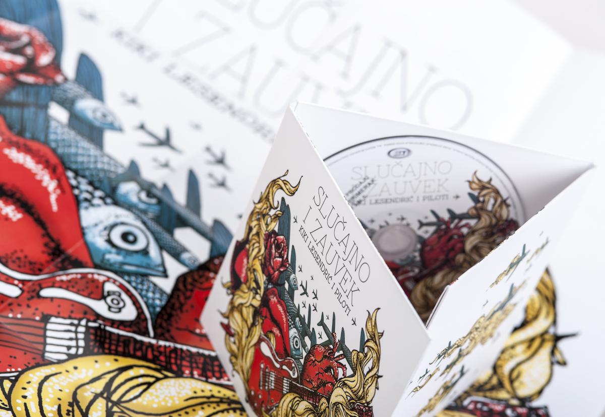 Kiki Lesendric i Piloti Slucajno i Zauvek CD Pack  S-8