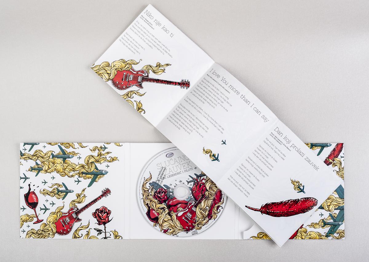 Kiki Lesendric i Piloti Slucajno i Zauvek CD Pack  S-9